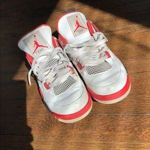 Jordan bred retro 4s